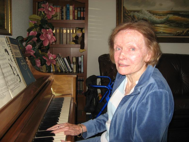 92 year old student.  Music keeps the mind young and life a joy.