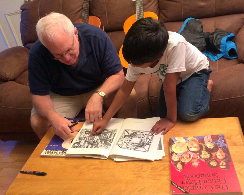 Holistic Education: Sharing and Art Book